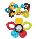 ALEX Toys Mix 'n Max Multi-Sensory Teethers, Set of 2