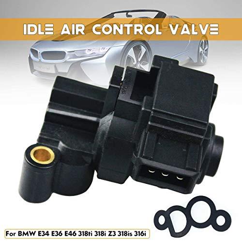 Carvicto - Idle Air Control Valve IACV AC494 0280140575 For BMW E34 E36 E46 0280140575 Auto Replacement Parts Air Intake System 7x5.5cm