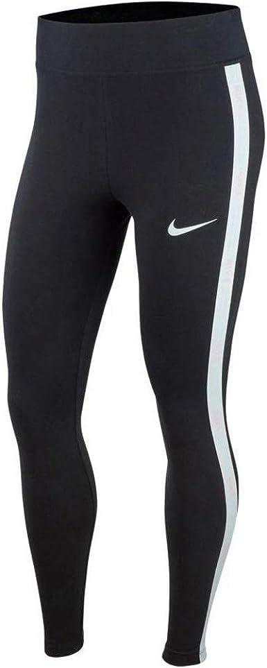 Amazon Com Nike Hyper Femme High Waist Leggings Gx Ar2201 010 Size M Black White Clothing