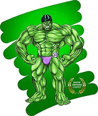 Felpa di qualit/à Premium - Stampata in Francia - RIF : 1127 Parodia MCU Hulk OKIWOKI Felpa Nera Bambino e Ragazzo