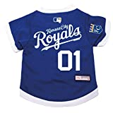 MLB Kansas CITY Royals Pet jersey with MLB Patch, Royal with White Trim, Extra Large