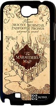 Coque Samsung Galaxy Note 2 – Harry Potter – Carte du Maraudeur ...