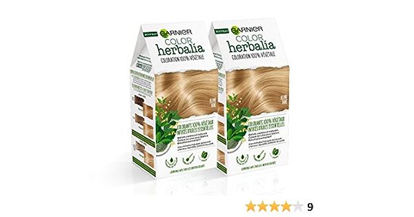 Garnier Color herbalia Coloración 100% vegetal Rubio/Doré , Juego de 2