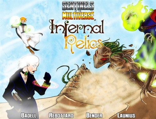 Sentinels of the Multiverse: Infernal Relics by Greater Than Games