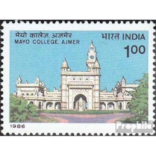 inde 1057 (complète.Edition.) 1986 college (Timbres pour les collectionneurs)