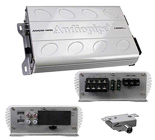 Audiopipe apmar4095 Audiopipe 4 CH Mini Marineアンプ1300 W Max B077GD4RZJ
