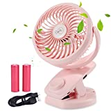 Best Fan With Multi - Rechargeable Battery Operated Clip on Fan 4400mAh Battery Review