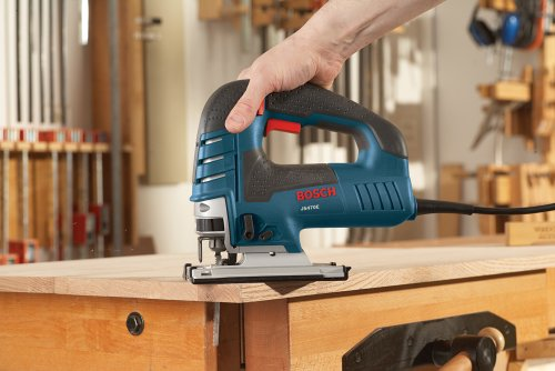 Bosch Power Tools Jig Saws - JS470E Corded Top-Handle Jigsaw - 120V Low-Vibration,...