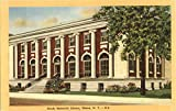 Steele Memorial Library Elmira, New York Original Vintage Postcard