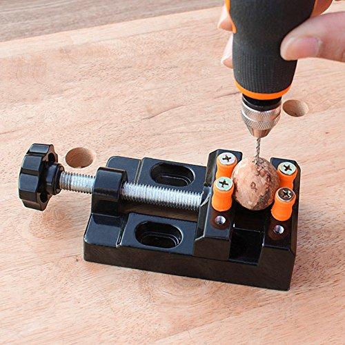 Grizack Mini Pinza Universale Morsetto morsa Lega di Alluminio Noce Dado Gioielli pinze da Tavolo pinze Intaglio Strumenti fissi