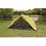 """First Gear - Cliff Hanger - Solo Tent 11 Sleeps 1 - 6'7"""" x 2'5"""" x3'7"""" Taped fly and floor seams Full coverage fly completely surrounds the tent"""