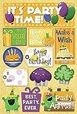 Karen Foster Design Acid and Lignin Free Scrapbooking Sticker Sheet, Make a Wish