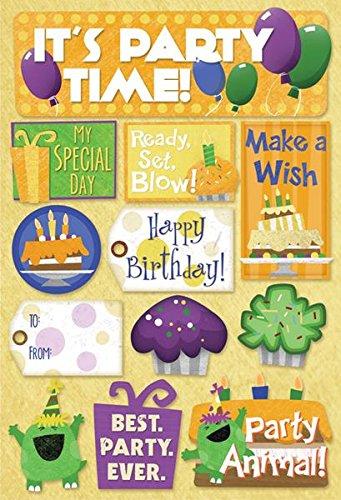 KAREN FOSTER Cardstock Stickers-Make A Wish