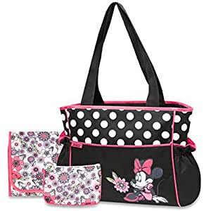 Amazon Com Disney Baby Minnie Mouse Coral Floral 3 Piece