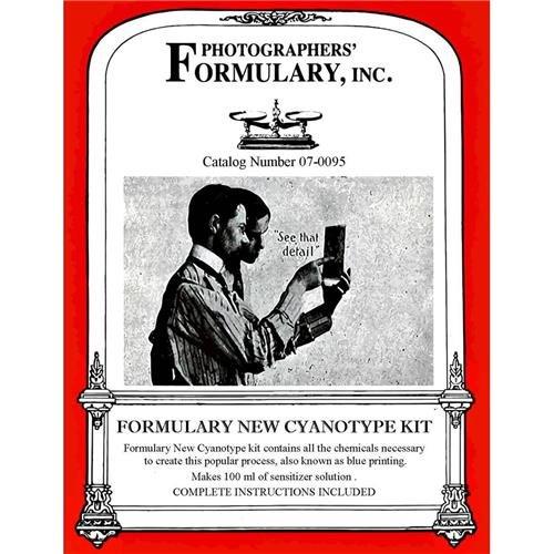 Photographer's Formulary New Cyanotype Printing Kit, Makes 50 8 x 10 - Kit Cyanotype