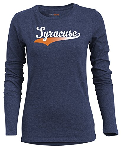 a9a250d20a8 Camp David NCAA Syracuse Orange Women's BFF 2 Long Sleeve Crew Neck Tee, XX-