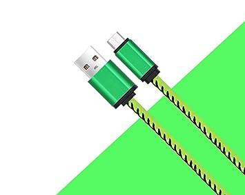 Cable huawei P10 lite cable usb huawei P10 lite de piel con ...