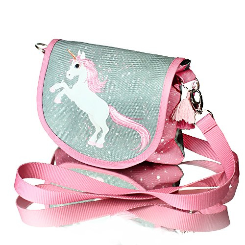 Unicorno MAGIC COLLECTION con broccato piccola borsa Topolina Borsa a tracolla Modello 2018