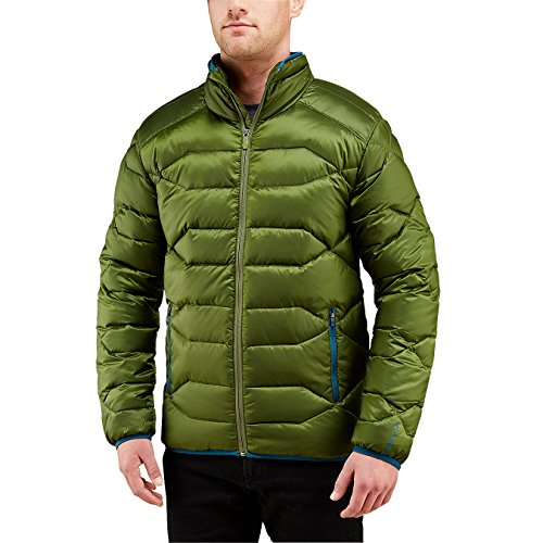 Merrell Men's Wildgarst Down Puffer Jacket, X-Large, Chive
