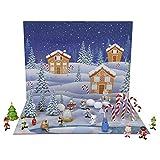 Elf Advent Calendar, Enjoy 24 Days of Fun