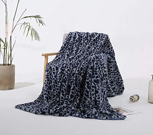 (WSI Blankets, Woollen Blanket Baby Blanket Crystal Short Plush Sofa Blanket Travel 160200cm / Blue)