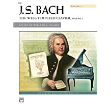 Bach - The Well-Tempered Clavier, Vol 1: Comb Bound Book