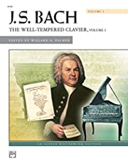 Bach -- The Well-Tempered Clavier, Vol 1: Comb Bound Book