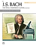 img - for Bach -- The Well-Tempered Clavier, Vol 1 (Comb Bound Book) (Alfred Masterwork Edition) book / textbook / text book
