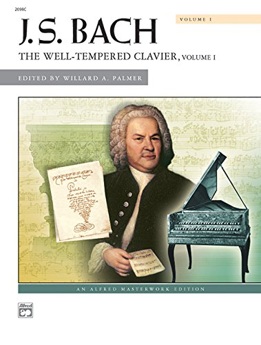 - Bach -- The Well-Tempered Clavier, Vol 1: Comb Bound Book (Alfred Masterwork Edition)