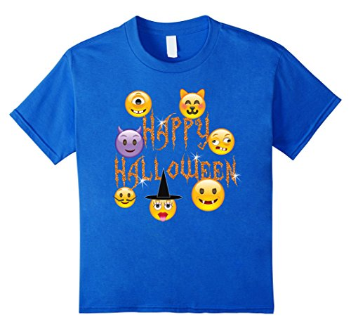 Happy Halloween Scary Emoji Faces For Kids and Teens
