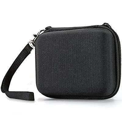 ProCase Samsung T3 Portable Carrying Case, Compact Hard Shell Eva Shockproof Storage Travel Organizer for Samsung T3 / T1 Portable 250GB 500GB 1TB 2TB SSD USB 3.0 External Solid State Drives –Black