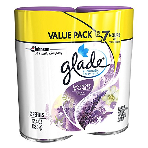 Glade Automatic Spray Refill - Lavender & Vanilla, 6.2 oz, Pack - 3, (6 Count) by Glade (Image #3)