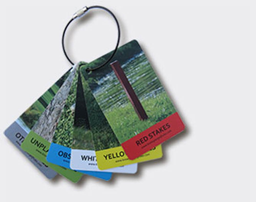 IZZO Golf Know Your Rules Bag Tags