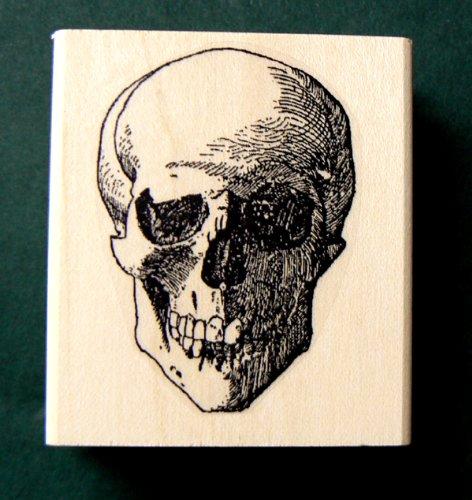 Skull rubber stamp WM P20 (Stamp Skull)