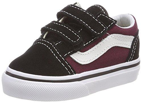 Vans Toddler Pop Old Skool V Sneakers - Black/ - UK 7 / US 7.5 / EU 24/12.5 -