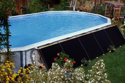 2-4'x20' FAFCO Bear Solar Pool Heater w/ integrated valve