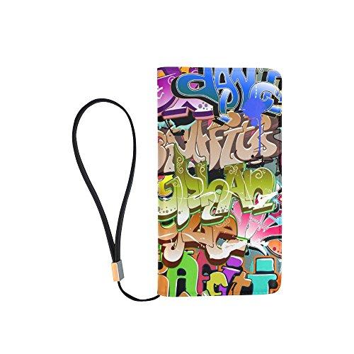 mens-graffiti-pop-art-wallet-clutch-bag-handbag-organizer-zipper-purse-with-wrist-strap