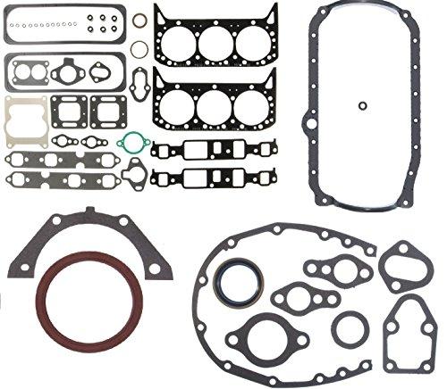 Mercruiser 4.3L 262 cid Chevy 1 Pc seal MARINE Full Gasket Set Head+Manifold+Oil Pan Vortec (4.3L 263cid)