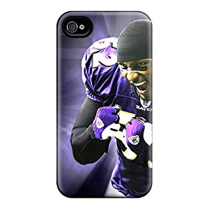Durable Cell-phone Hard Covers For Iphone 4/4s (VWV568uHrA) Support Personal Customs Trendy Baltimore Ravens Pattern
