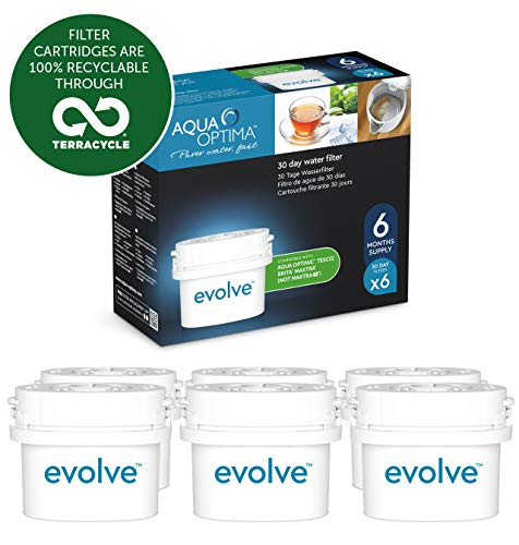 Optima Water - Aqua Optima Evolve 60 Day Water Filter Cartridge (Set of 6)