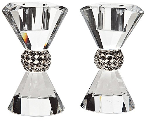 Set of 2 Godinger Pageant Bling Crystal (Pageant Set)