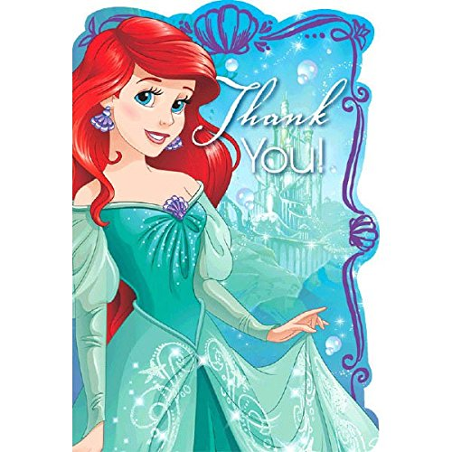 Price comparison product image Postcard Thank You / Disney Ariel Dream Big Collection / Party Accessory
