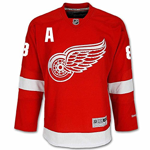 9995913a Justin Abdelkader Detroit Red Wings NHL Red Home Premier Hockey Jersey  (Small) cheap