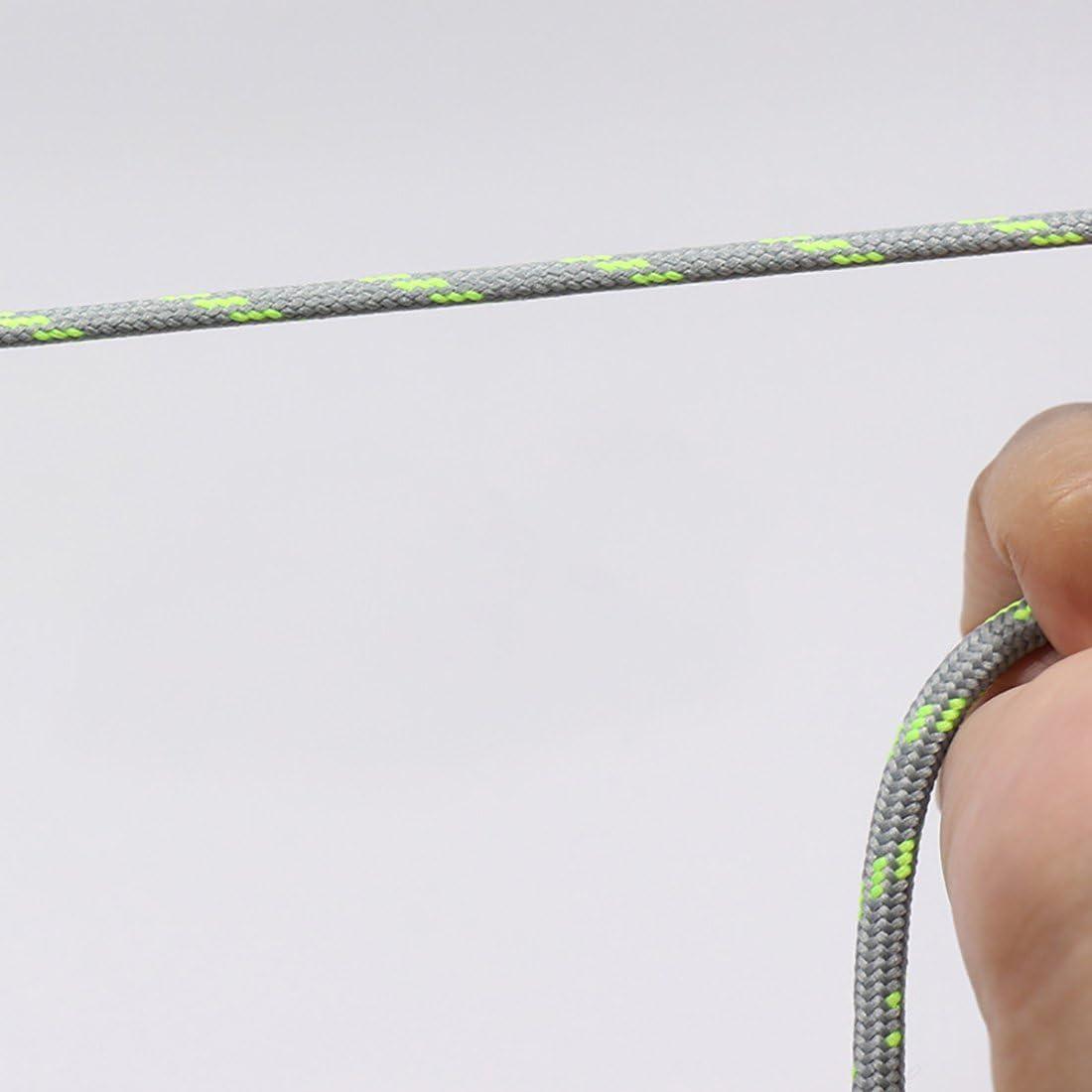 YaToy Lacets Ronds Antid/érapants Ext/érieurs dEscalade de Cordon Remplacement