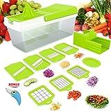 Vegetable Chopper,Mandoline Slicer,Vegetable Fruit Dicer,Onion...
