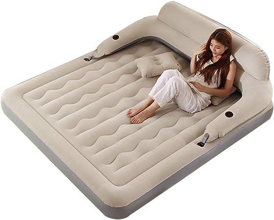 Luftbett Matratze Bett Gästebett Luftmatratze aufblasbares Bett Pumpe 185 x137cm