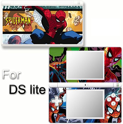 (Spiderman SKIN DECAL COVER STICKER for Nintendo DS lite)