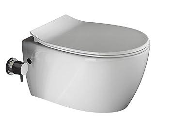 Aqua Bagno Hange Dusch Wc Ohne Rand Mit Integrierter Bidet