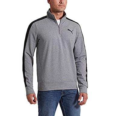 f1667aab3643 Puma Men s Stretchlite Half Zip Sweatshirt at Amazon Men s Clothing store