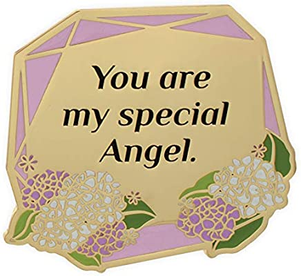 You are My Special Angel Multicolored 14886 AngelStar Visor Clip